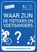 Waar zijn de fietsers en voetgangers?