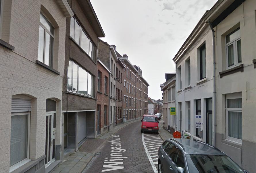 Foto van de Wijngaardstraat in Lier